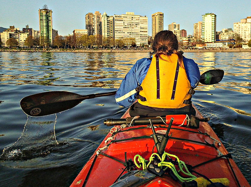 KayakingEnglishBay