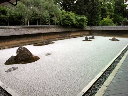 next up: Ryoan-ji Temple, a zen garden and another world heritage site. i really liked this one.