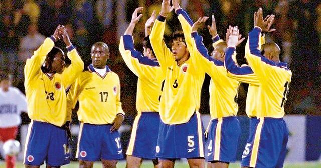 SOCCER-COLOMBIA-BRAZIL