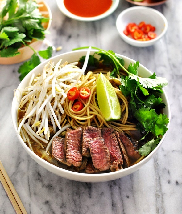 Asian Beef & Noodle Soup (Fuss Free Pho) | www.fussfreecooking.com