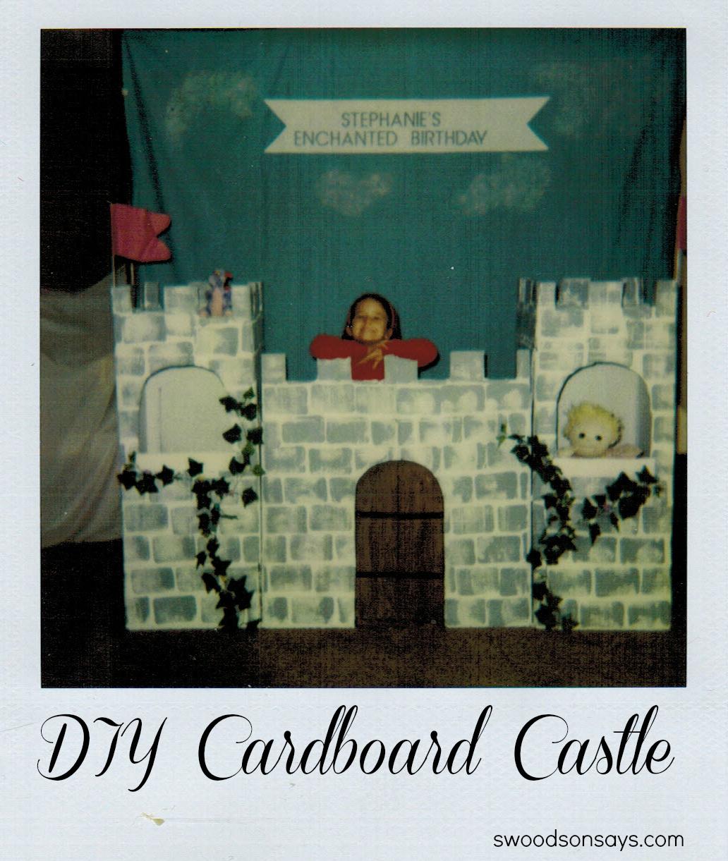 DIY Cardboard Castle - Swoodson Says