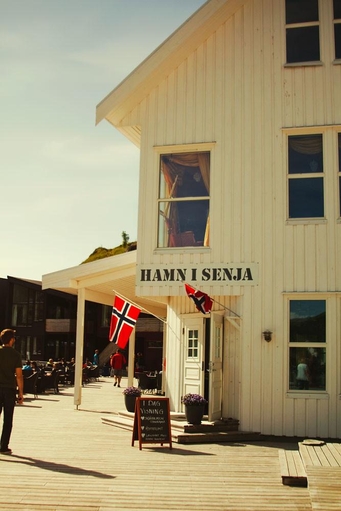 Hamn, Senja