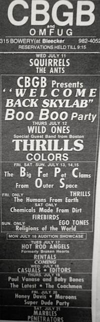 CBGB 07-11-79