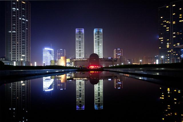 Exhibition Centre, Xinghai Square Dalian .