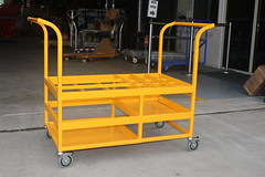 Hospital Gas Bottle Trolley