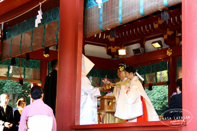 Wedding at Hachimangu