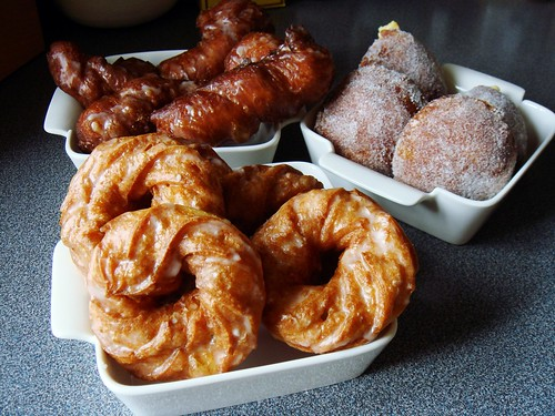 Trio Of Homemade Donuts