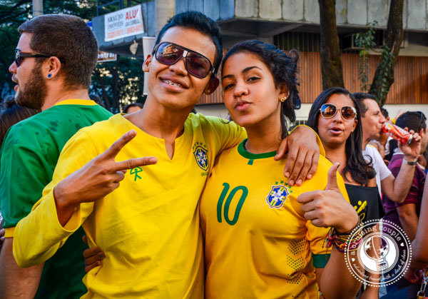 Fans of the World Cup