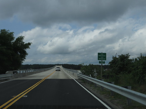 Entering Middlesex County, Virginia