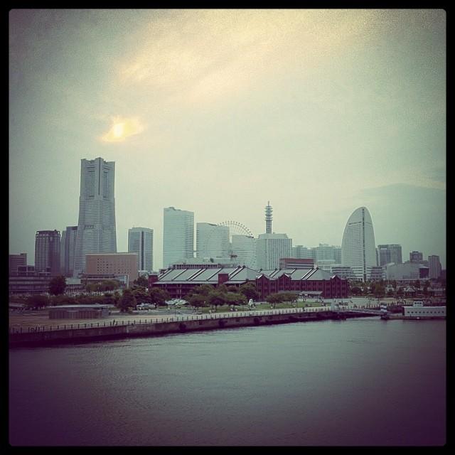 横浜 みなとみらい 大桟橋
