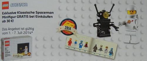 LEGO Creator July German  Promotion