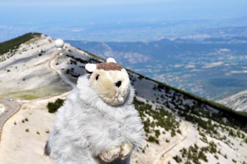 Mont Ventoux Géant de Provence Gigant der Provence Karla Kunstwadl Brigitte Stolle