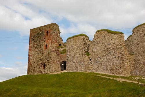 castle chateau bauska lettonie