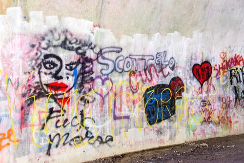 graffiti nationalpark northcarolina tunnel greatsmokymountains lakeviewdrive roadtonowhere nikond800