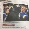 Look who made the Sunday paper! :football::thumbsup: #thatsmykid
