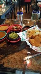 Coronas' dipping platter. Drool