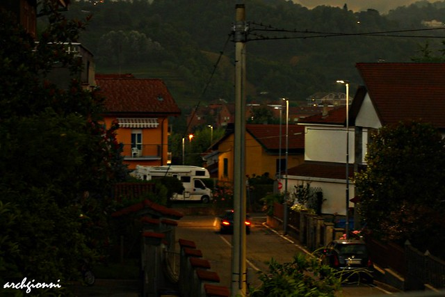 night in s.teresa street