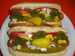 chicago hot dog style