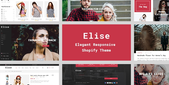 Elise v1.0.0 - A Genuinely Multi-Concept Shopify Theme