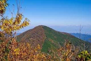 武甲山を展望@小持山