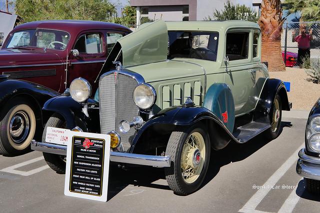 1932 Pontiac Dual Sidemount Coupe