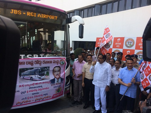 Free Wi-Fi on Hyderabad RTC buses
