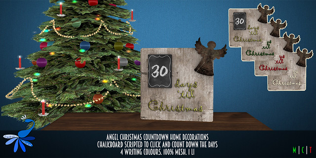 ZcZ Christmas Countdown Angel