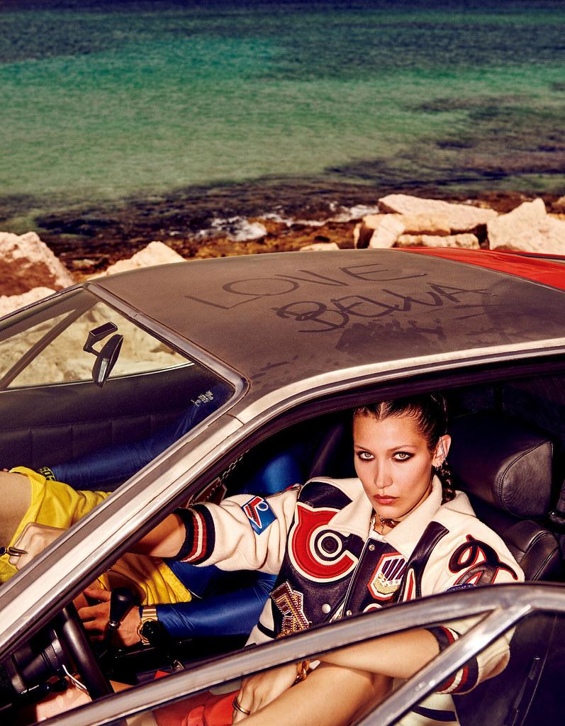 Белла Хадид — Фотосессия для «Vogue» JP 2016 – 11