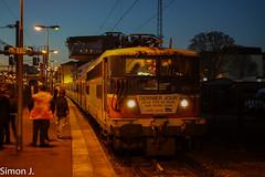 La BB 17075 à Pontoise