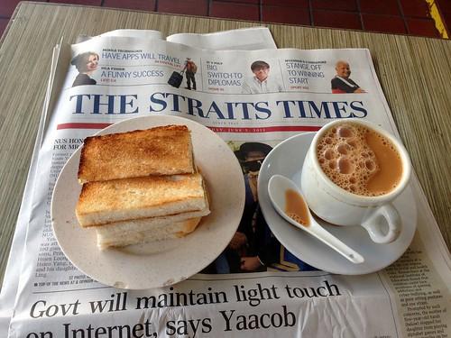 Kaya Toast and Tea - Singapore