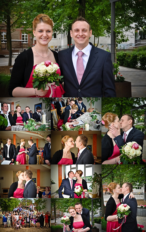 Hochzeitsfoto von Sarah und Armin Czerner, 2013. - Foto: Stephan Benz