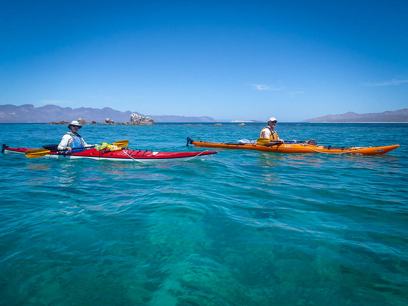 kayaking la paz, baja california