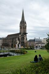 Catedral de San Pedro en Caen