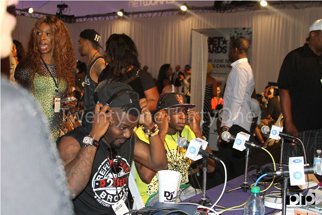 Jay Foley caught up with R2Bees and Ice Prince at BET Awards 2013 (16)