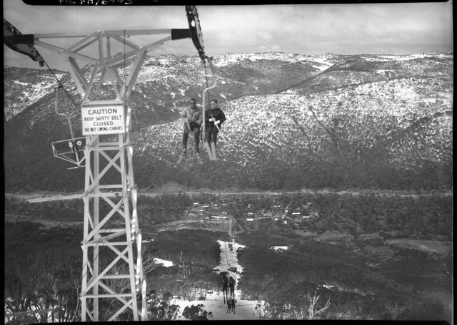 Thredbo ski lift & village : [Snowy Mountains Hydro-Electric Scheme, New South Wales] /