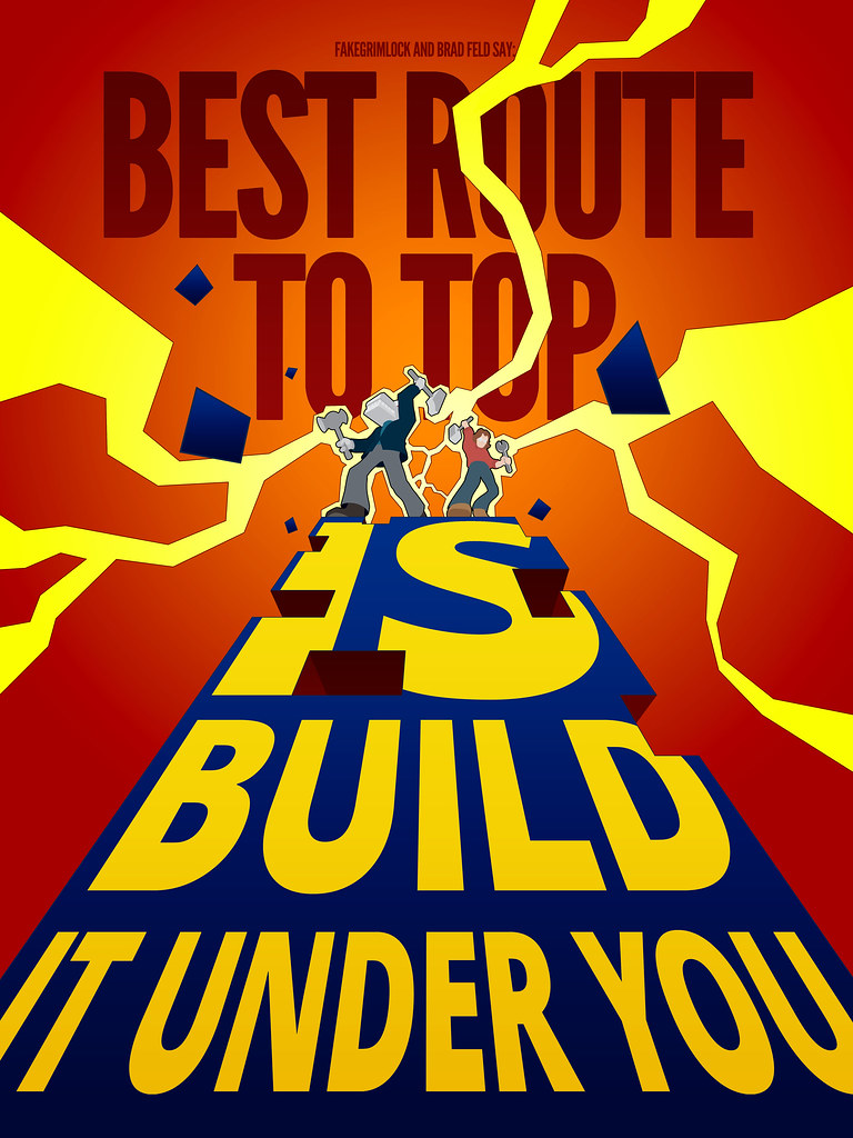 BUILD IT UNDER YOU - COLOR 04