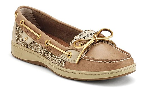 Sperry Gold Shoe