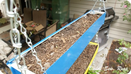 Gutter Garden with Drip Irrigation 04