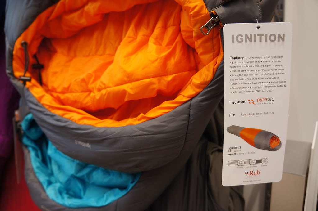 Rab Ignition sleeping bag