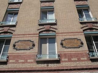L'apprentissage dans les métiers du bâtiment - Atelier ferblanterie serrurerie 1906. Paris, rue des Epinettes