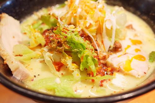 white tantan noodle