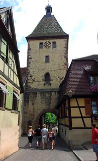 Entrée de la Grand Rue de Bergheim