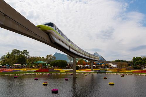 Flower & Garden Monorail Monday