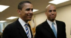 Barack Obama  & Cory Booker