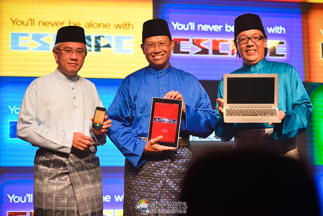 Celcom ESCAPE Launch & Raya Open House @ Shangri La Hotel KL