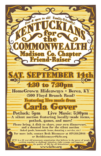 Madison County Friend-Raiser 2013 poster