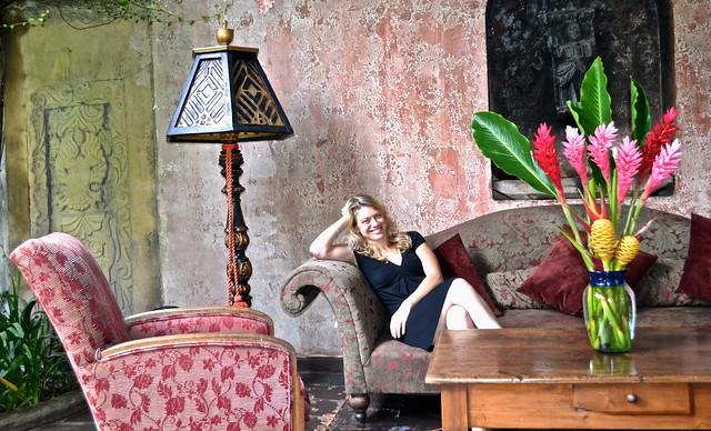 Lounge area - Panza Verde