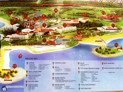 empire hotel map
