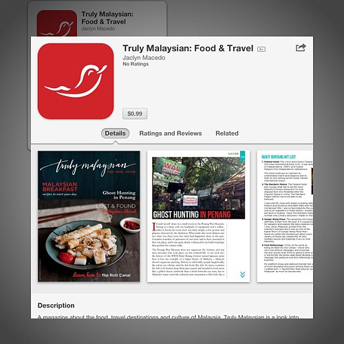 #trulymalaysian is live in the App Store!! #magazine