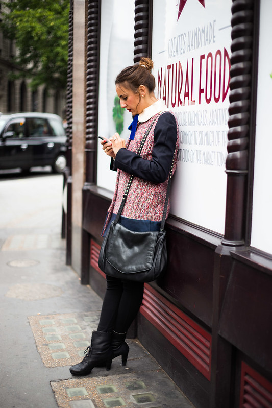 Street Style - Maria (Etrala), London Fashion Week